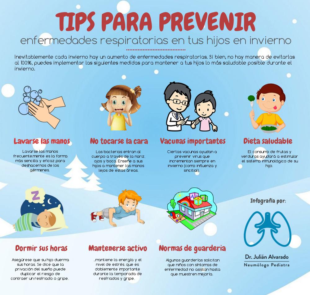 medidas de prevencion en epoca de invierno